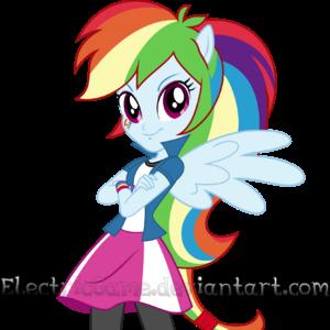 rainbow dash und twilight sparkle human