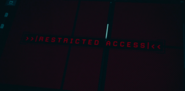 Restricted Access