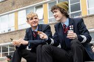 Alex Rider TV promo - Alex and Tom at School