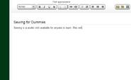 Sewing wiki dummies