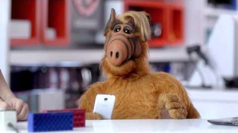 ALF's Cell Phone RadioShack InWithTheNew
