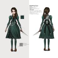 Alice Asylum - SukienkaBargainingV2