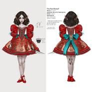 Alice Asylum - SukienkaRed