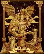 Alice Asylum - Jabberwock - tarot