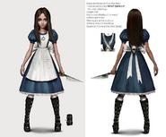 Alice Asylum - SukienkaClassic