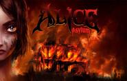 Alice Asylum - płonący dom