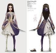 Alice Asylum - SukienkaChaosV3