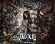 Alice Asylum - Alice wśród latających przedmiotów