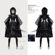 Alice Asylum - SukienkaBlackening