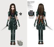 Alice Asylum - SukienkaKingOfPlanets