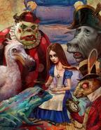 Alice Asylum - herbatka z przyjaciółmi