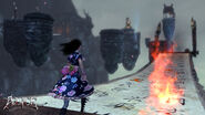 Alice Madness Returns - Calligraphy scroll