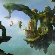 Alice Asylum - latające wyspy 1