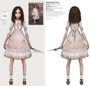 Alice Asylum - SukienkaPleading