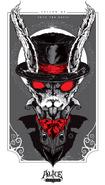Alice Asylum - Biały Królik - Concept Art