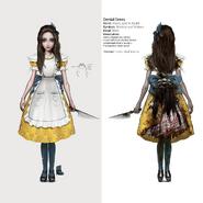 Alice Asylum - SukienkaDenial