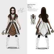 Alice Asylum - SukienkaDeathTime