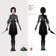 Alice Asylum - SukienkaDepression