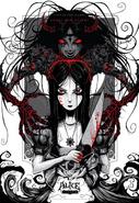 Alice Asylum - Alice i Shadow Alice Concept Art