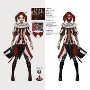 Alice Asylum - SukienkaCircus