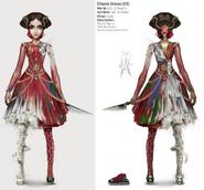 Alice Asylum - SukienkaChaosV1