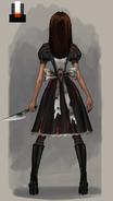 Alice Asylum - SukienkaAshTył
