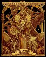 Alice Asylum - tarot - Królowa