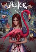 Alice Asylum - Alice z flamingiem