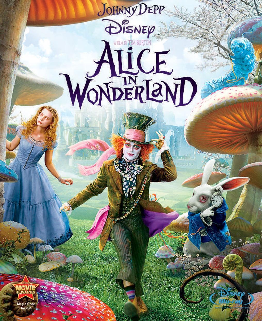 Alice in Wonderland (2010)/Script