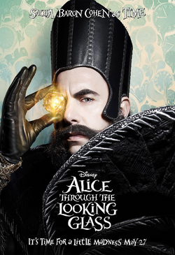 Alice Through the Looking Glass - promotional image - Time.png