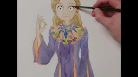 Alicia a través del espejo Dibujo Alicia