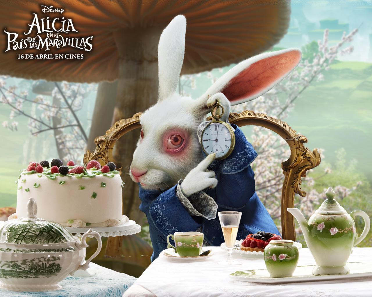 El Conejo Blanco Alicia En El País De Las Maravillas Wiki Fandom