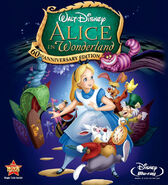DVD Poster Alice In Wonderland