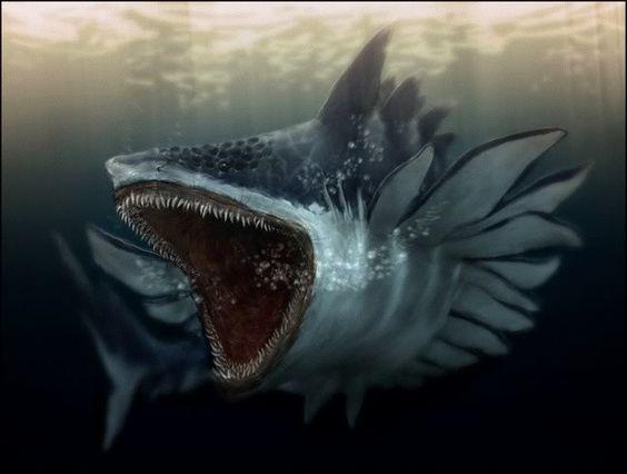 The shark-monster