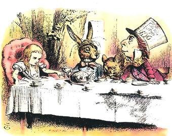 The Mad Tea Party Alice In Wonderland Wiki Fandom