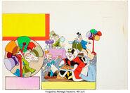 Alice in Wonderland Children's Book lllustration 1960s-70s