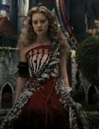 Alicered dress
