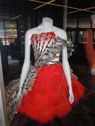 Red queen palace Alice wonderland costume