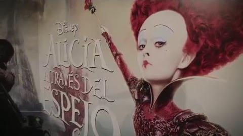 Alicia a través del espejo Première Madrid