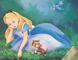 Alice In Wonderland Book Alice At Riverbank.jpg