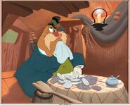 Alice in Wonderland The Walrus Publicity Cel Setup (Walt Disney, 1951)