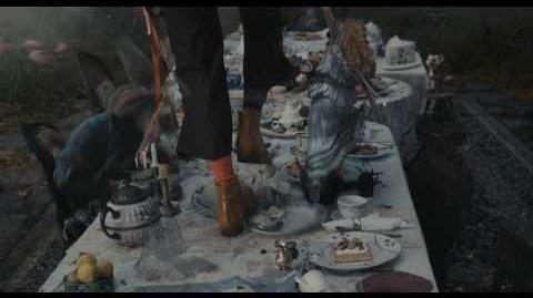 Disney Escena Alicia en el País de las Maravillas - La hora del te