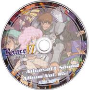 Alicesoft Sound Album Vol. 05 disc