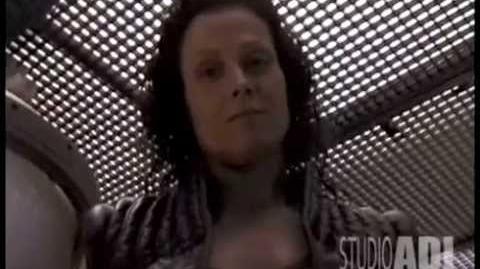 ALIEN 4 Sigourney Weaver Fun On Set ALIEN RESURRECTION