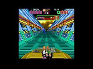 Aliens Arcade Multiplayer Gameplay