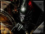 Aliens Interactive menu