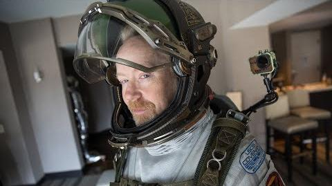 Adam Savage Incognito in the Alien Covenant Spacesuit!