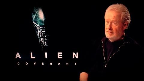 """Alien Covenant"" Ridley Scott im Interview"