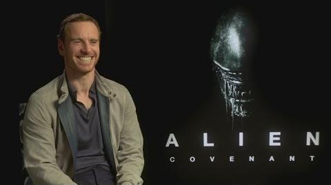 Michael Fassbender 'laughed a lot' at Alien Covenant