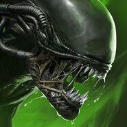 Alien blackout icon